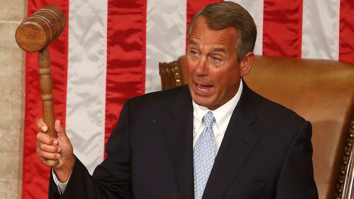 John Boehner House of Representatives U.S. AFP