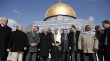 او آئی سی کے سربراہ کا مسجد الاقصیٰ کا تاریخی دورہ