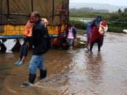 الحملة السعودية توزع كسوة الشتاء على لاجئي سوريا بلبنان