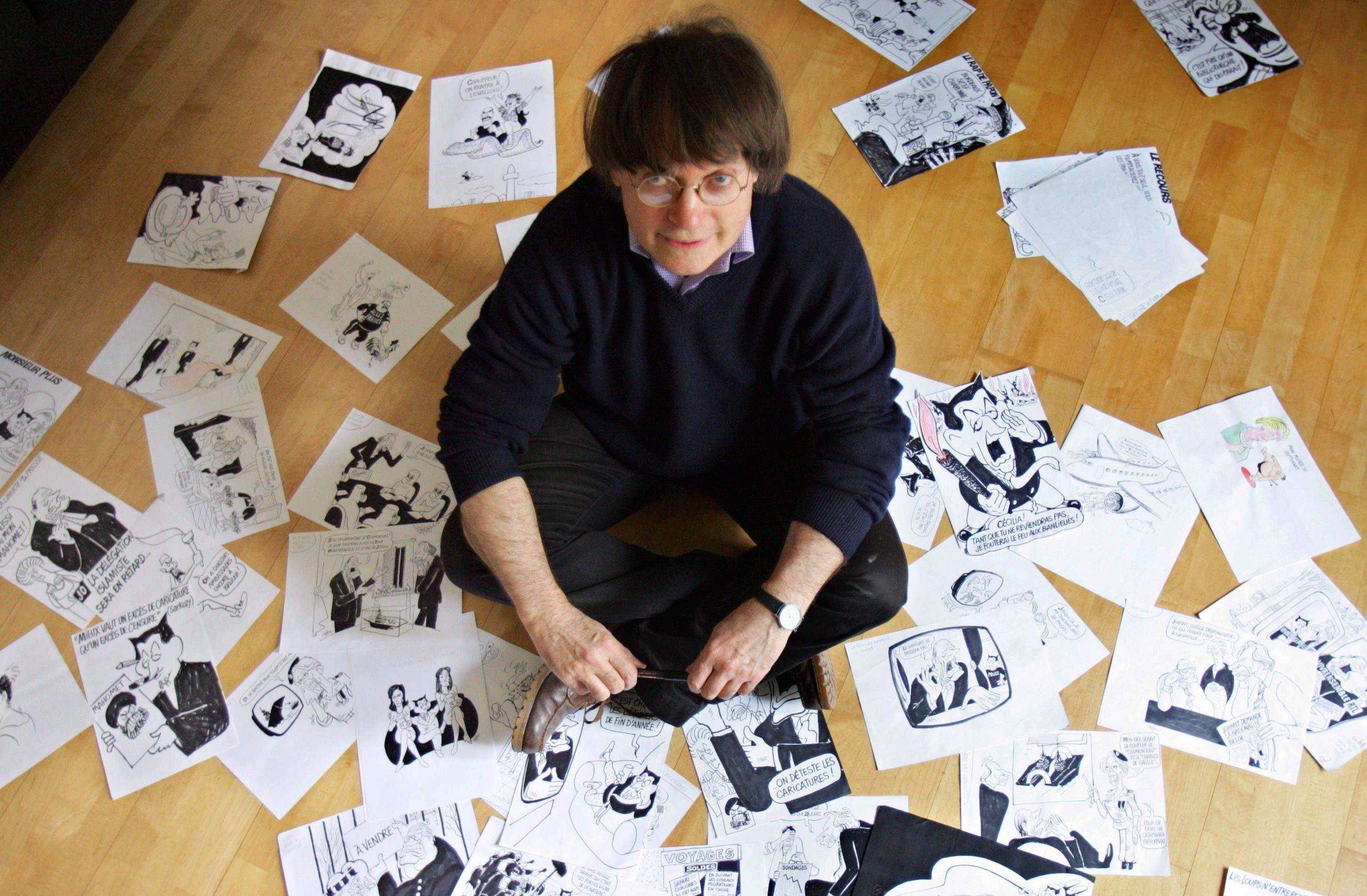 Charlie Hebdo Jean Cabut AFP