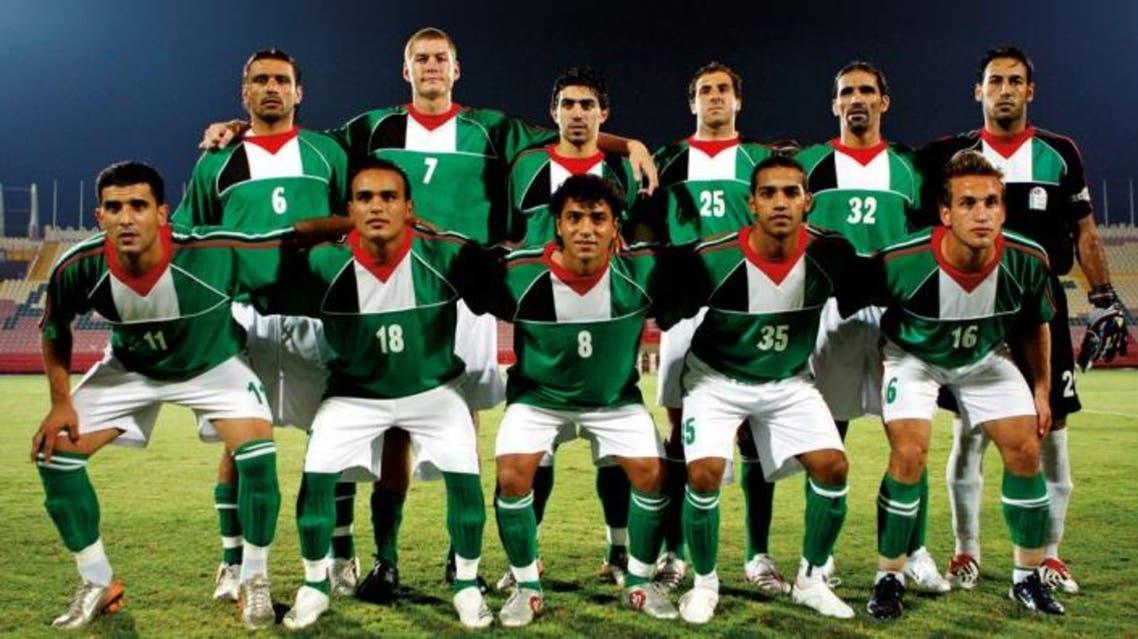 Palestinian team reuters