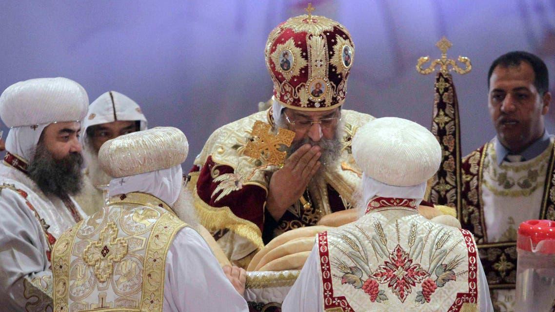 Sisi's surprise Coptic Christmas visit