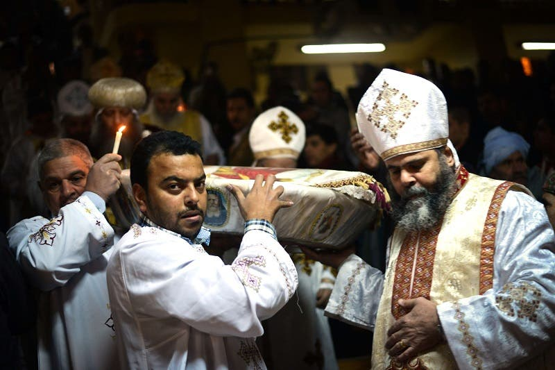 Egypt's Coptic Christians celebrate Christmas - Al Arabiya English