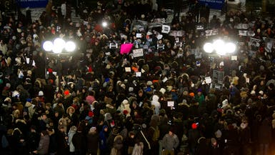 تظاهرات بأميركا وكندا تنديدا بالهجوم على شارلي ايبدو