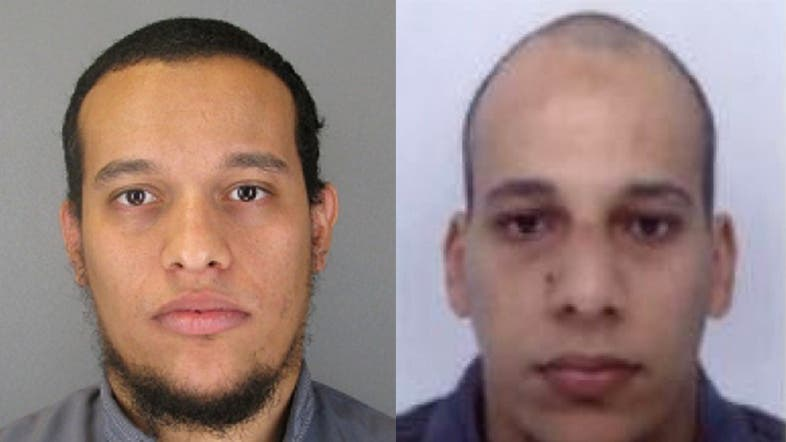 Said Kouachi, 34, (L) Cherif Kouach, 32 (R), are suspects and are wanted in connection with an attack at a satirical weekly in the French capital that killed at least 12 people. (AFP)