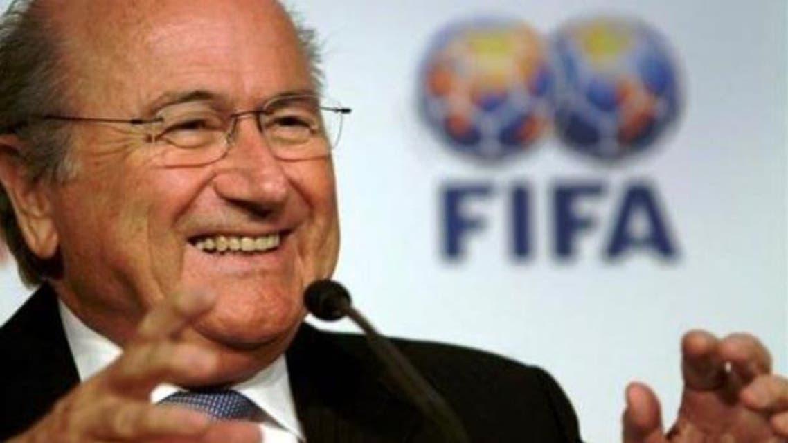FIFA Blatter AFP