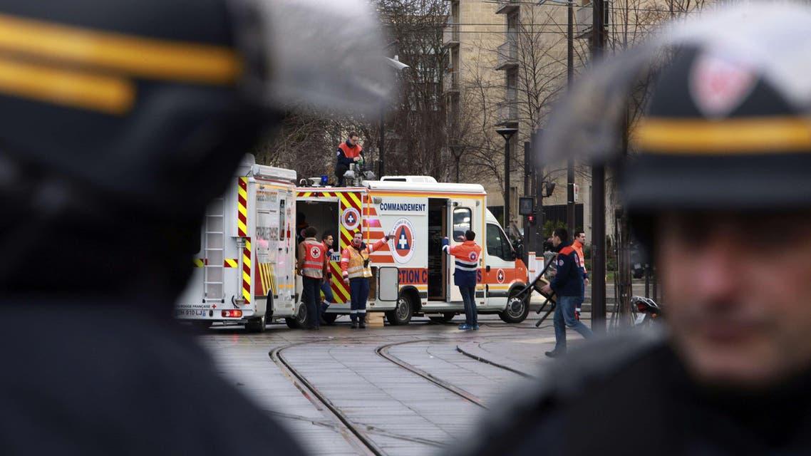 Paris police AFP