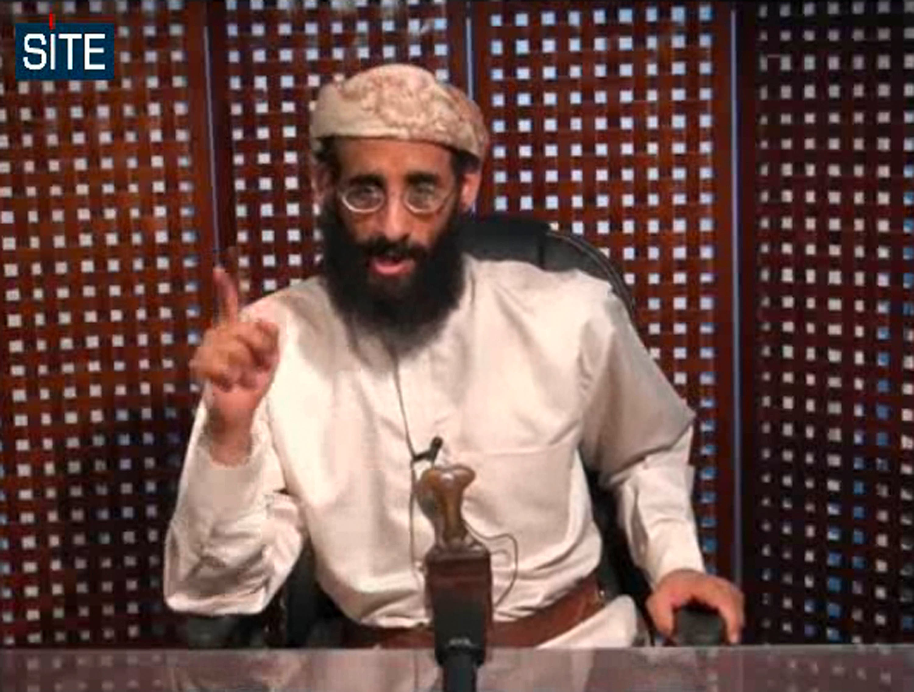 Anwar al Awlaki al qaeda yemen AQAP AP (video posted on radical site)