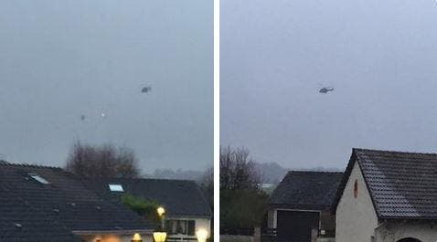 helicopter chase paris le figaro charlie hebdo