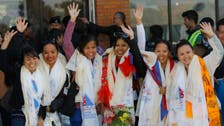 Nepalese women team 1st to scale world's highest peaks