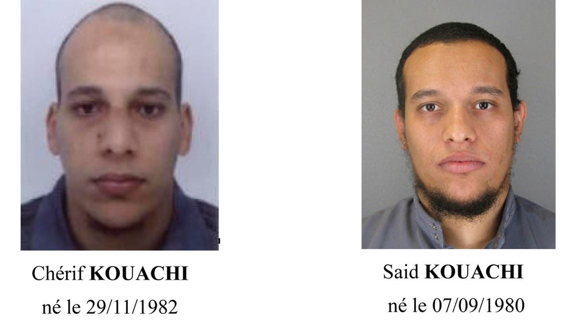 A call for witnesses released by the Paris Prefecture de Police January 8, 2015 shows the photos of two brothers Cherif Kouachi (L) and Said Kouachi. (Reuters)