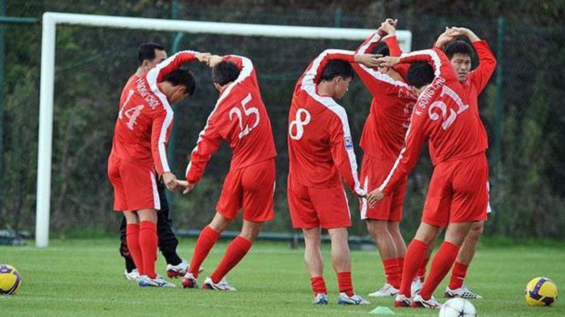 north korea football AFP
