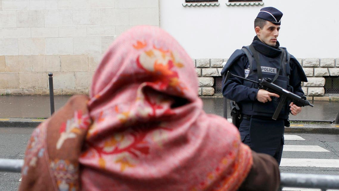 france French policeman Charlie Hebdo REUTERS