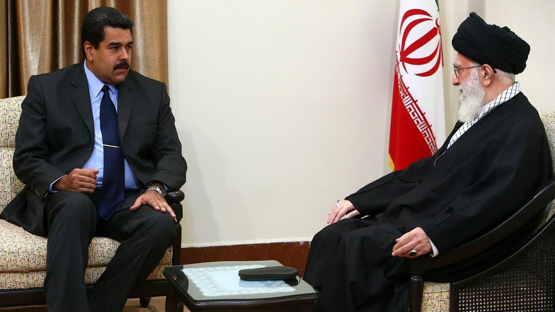 Maduro Khamenei AFP Iran Venezuela