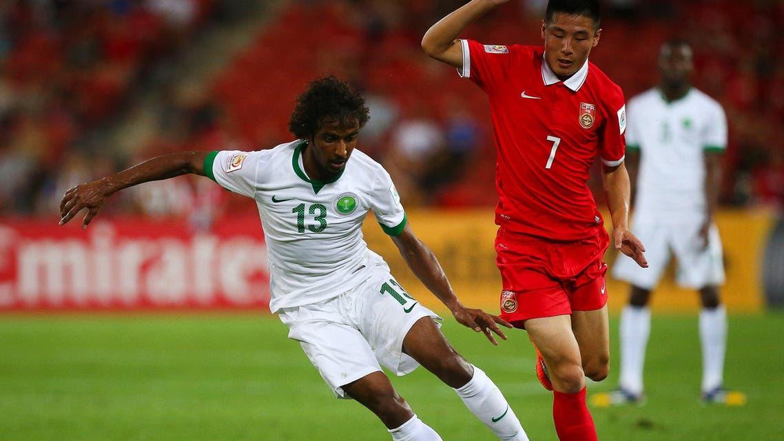 China Saudi Arabia Brisbane Football soccer AFP