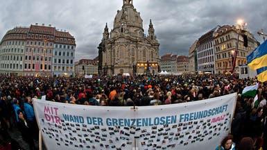 """35 ألف ألماني يتظاهرون ضد """"بيغيدا"""" المناهضة للإسلام"""