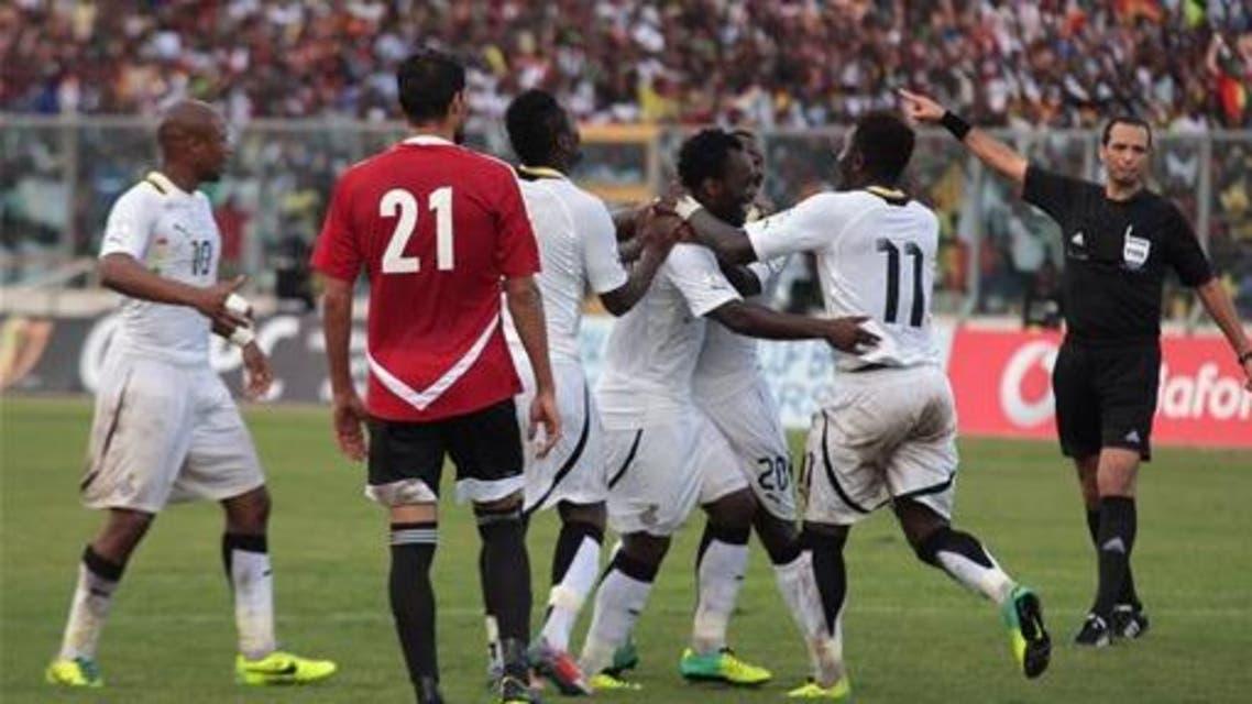 ghana national football team AP