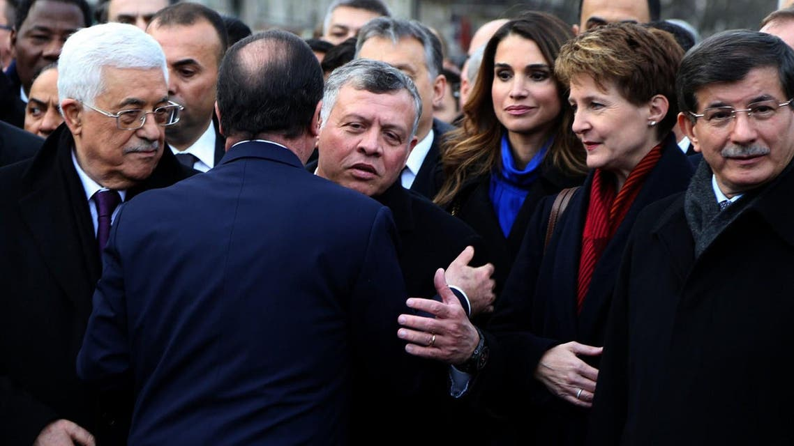 World leaders join Paris solidarity rally
