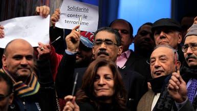 بالصور.. القاهرة وبيروت ورام الله تتضامن مع باريس