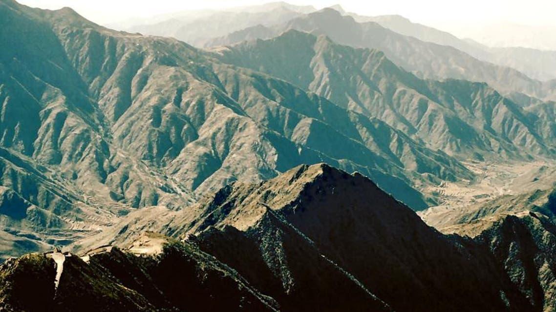 saudi mountain afp