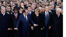 پیرس:عالمی رہ نماؤں کا دہشت گردی مخالف مارچ