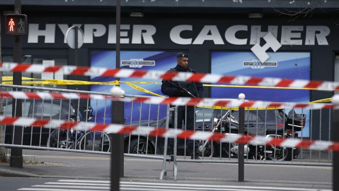 kosher supermarket Paris AFP