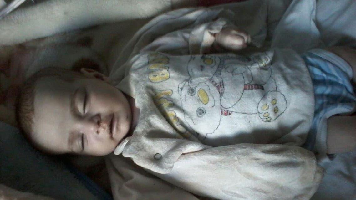 الطفلة فاطمة علاء الدين هي رابع طفلة سورية لقت حتفها  في عرسال قبل قليل بسبب البرد