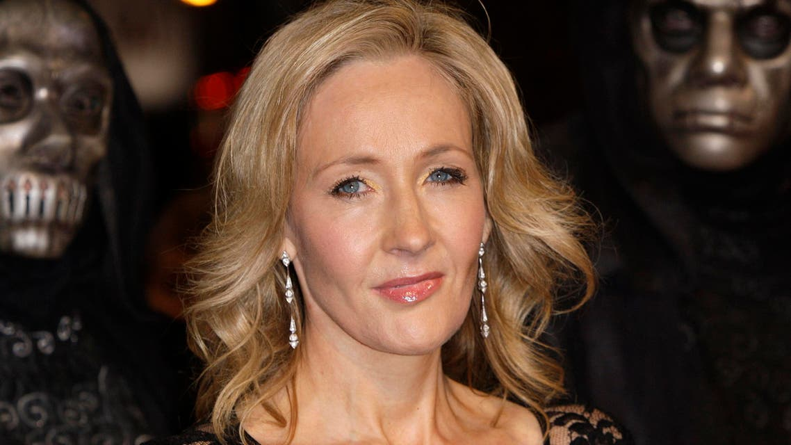 Rowling is world-known for her Harry Potter book series which has been made into a hugely successful film franchise. (File photo: AP)