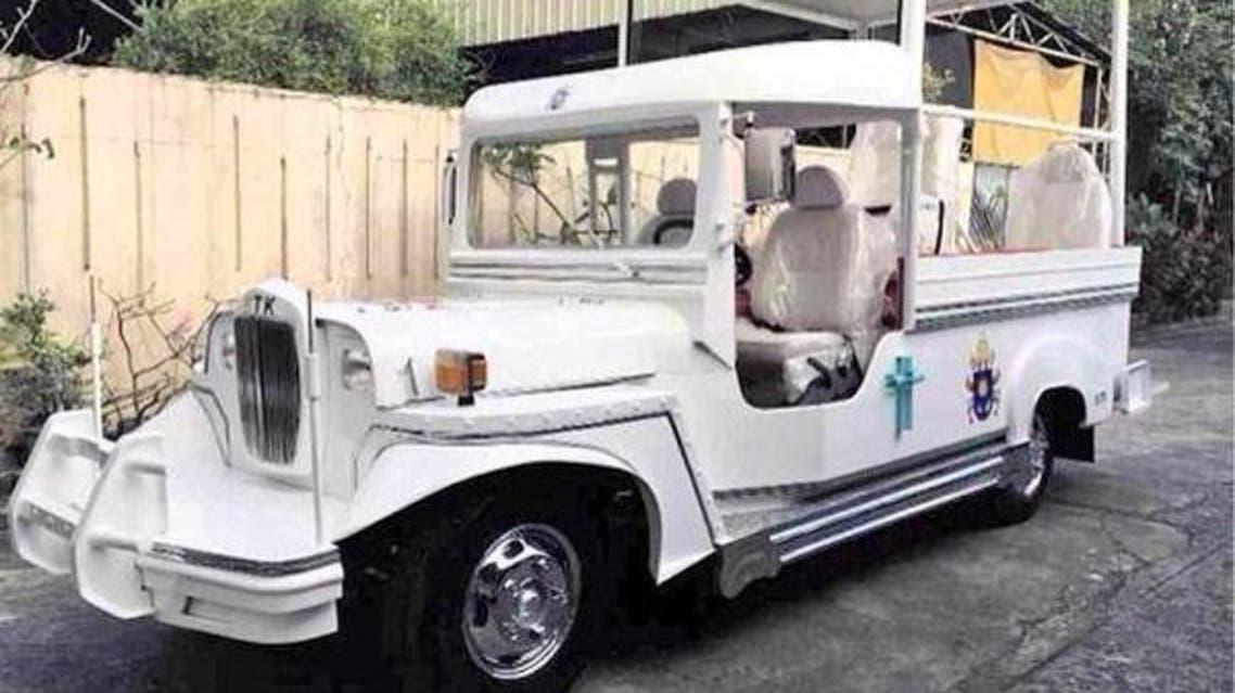 Pope's Jeepney Phillipines Twitter