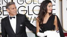 Watch George Clooney pay tribute to Amal in Golden Globes speech