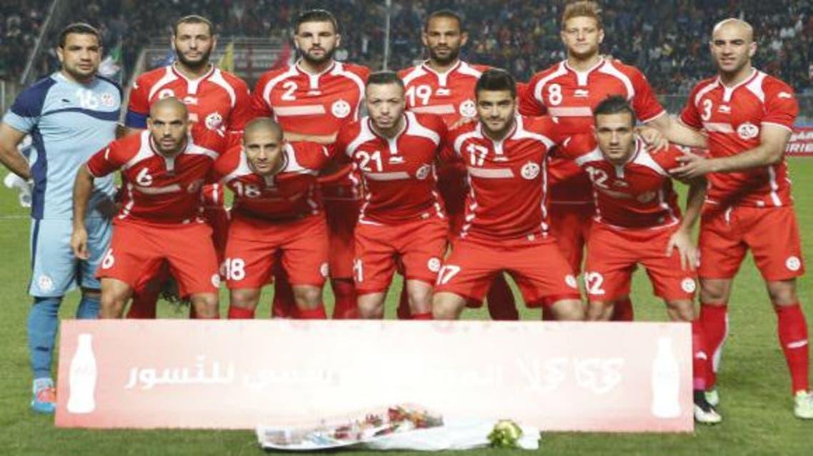Tunisian squad before a pre-Afcon friendly against Algeria last week. (StarAfrica.com)