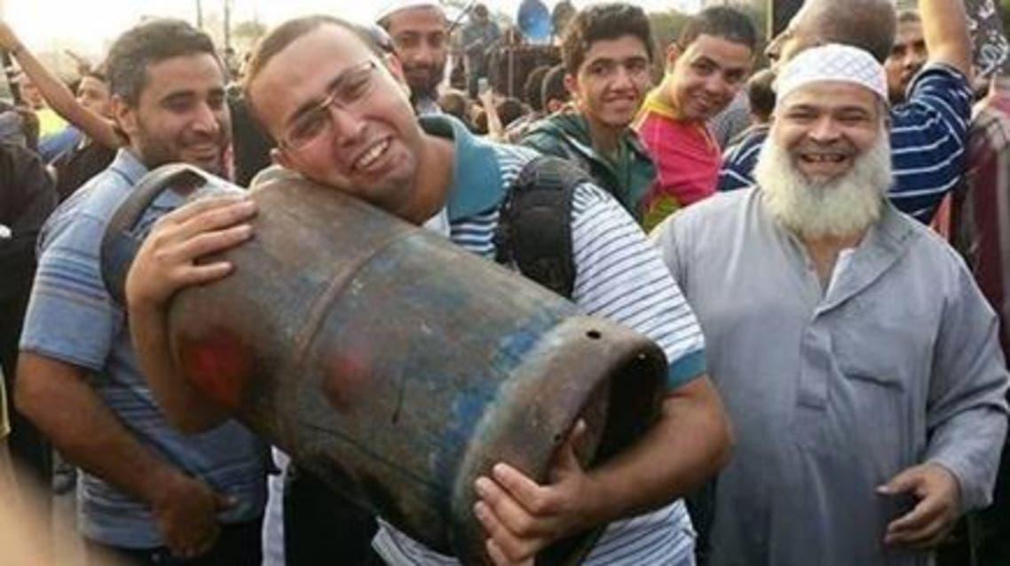 مواطن مصري يموت من الفرح