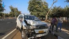 Kerry, staff involved in minor car accident in India