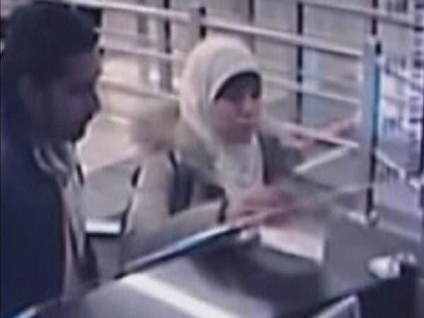 """فيديو للجزائرية """"مطلوبة فرنسا الأولى"""" بمطار اسطنبول"""