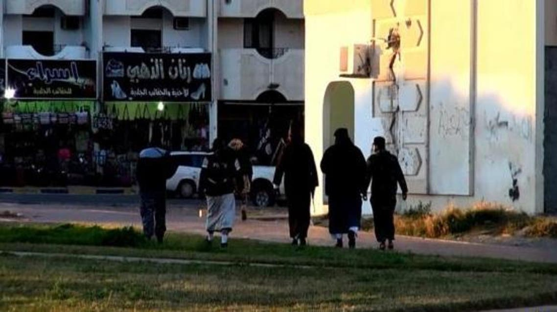داعش ينشر صوراً لرجال الحسبة في طرابلس في ليبيا