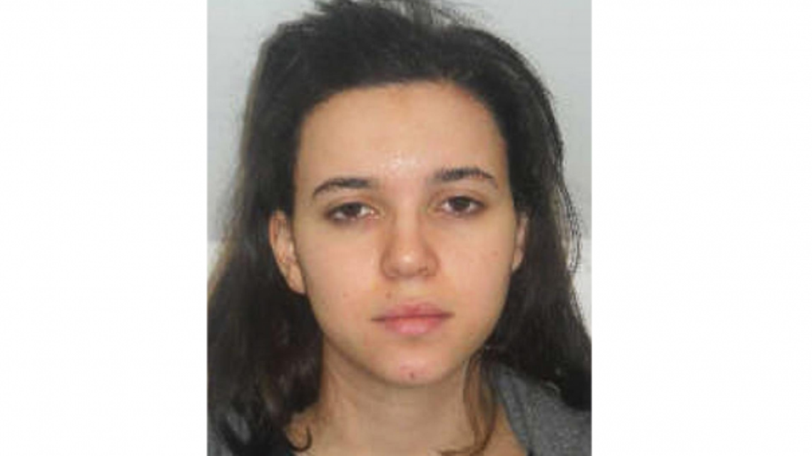 A mugshot of Hayat Boumeddiene, distributed by French police after the attacks. She has now become France's most wanted woman.