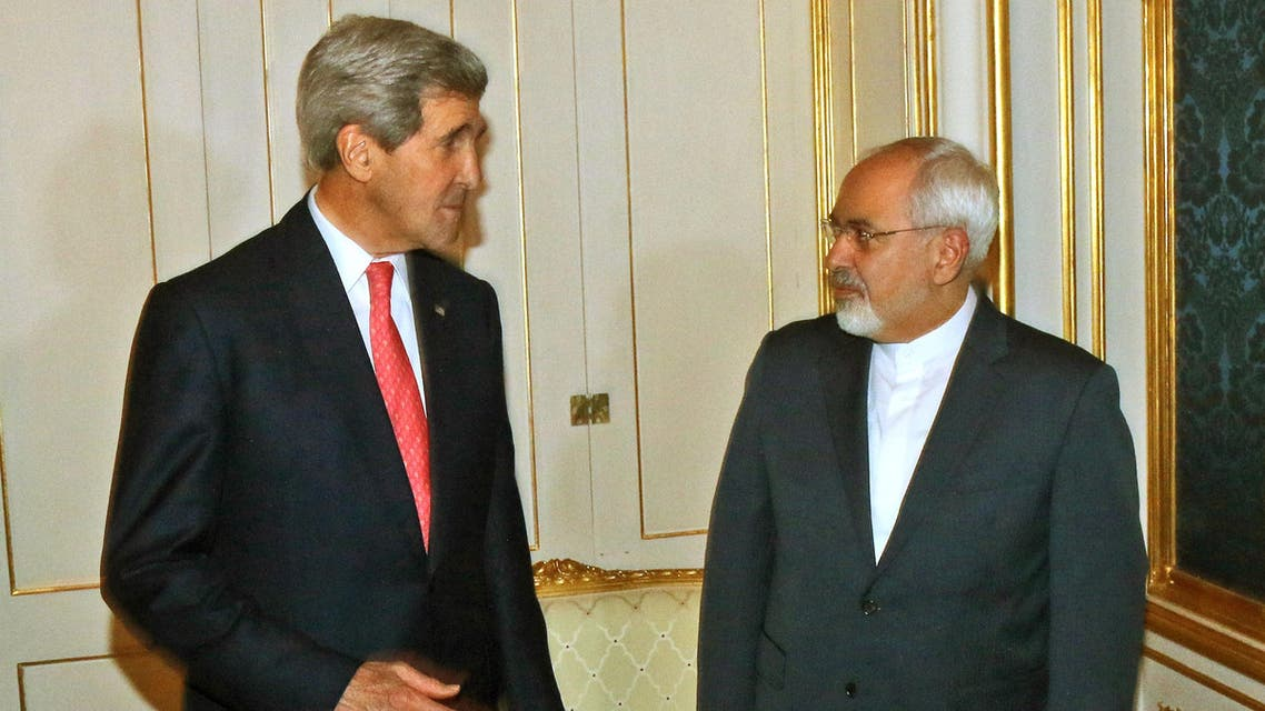 Kerry iran zarif u.s. (File photo: AP)