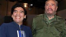 Amid rumors over health, Fidel Castro sends letter to Maradona
