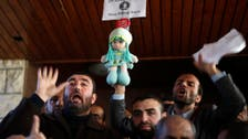 Hamas employees in pay protest at unity govt Gaza HQ