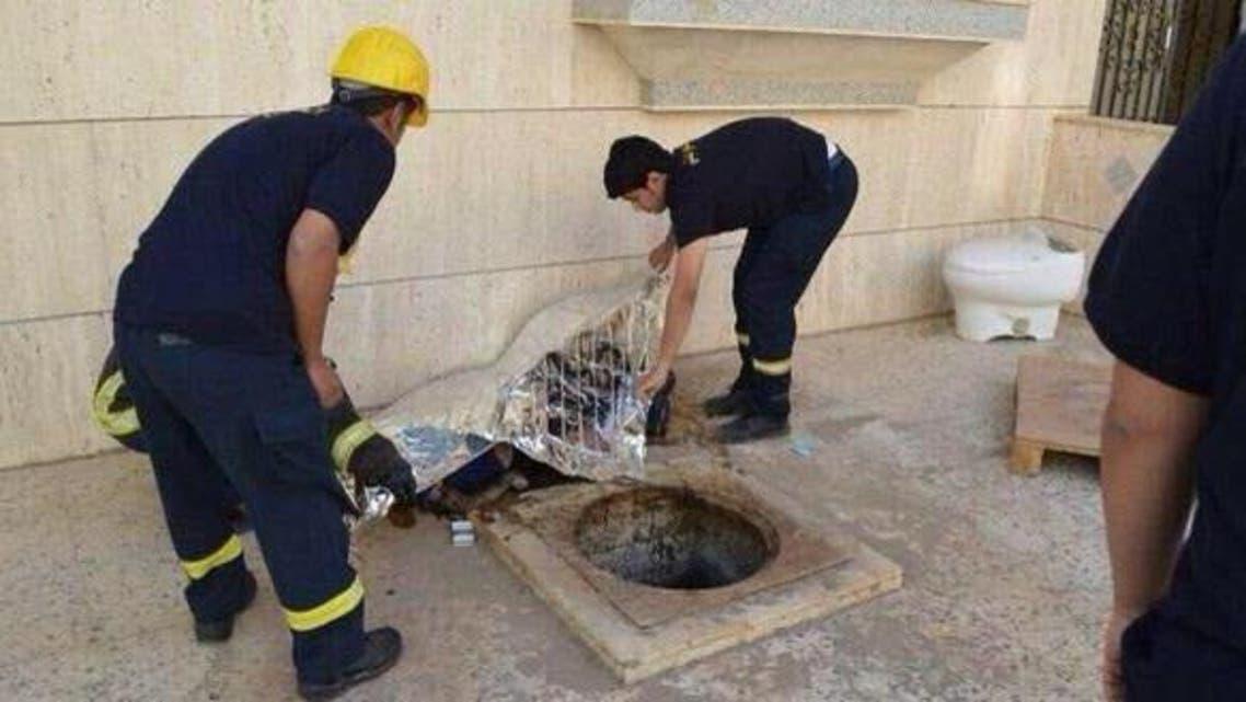 حفرة للصرف الصحي