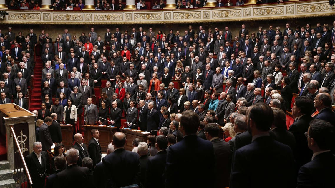 French Parliament AFP