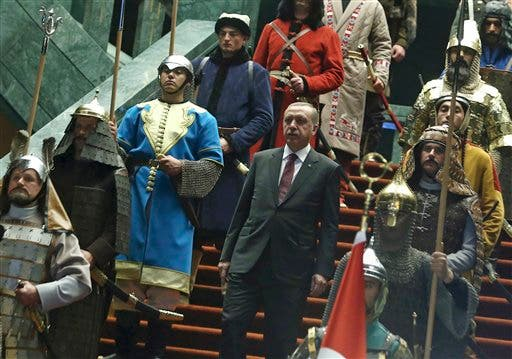 turkey erdogan abbas ap