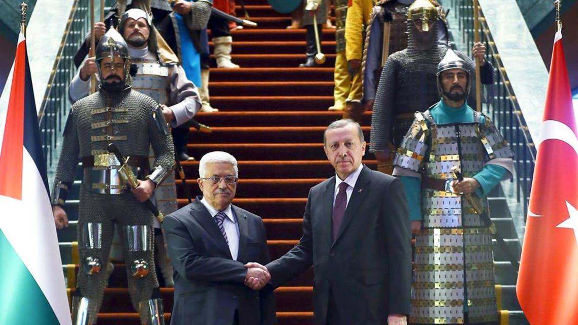 turkey erdogan abbas ap