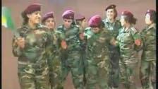 فيديو.. نساء البيشمركة يرقصن الدبكة بالزي العسكري