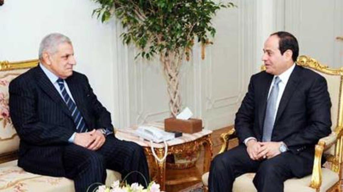 Sisi Egypt PM Egyptian presidency
