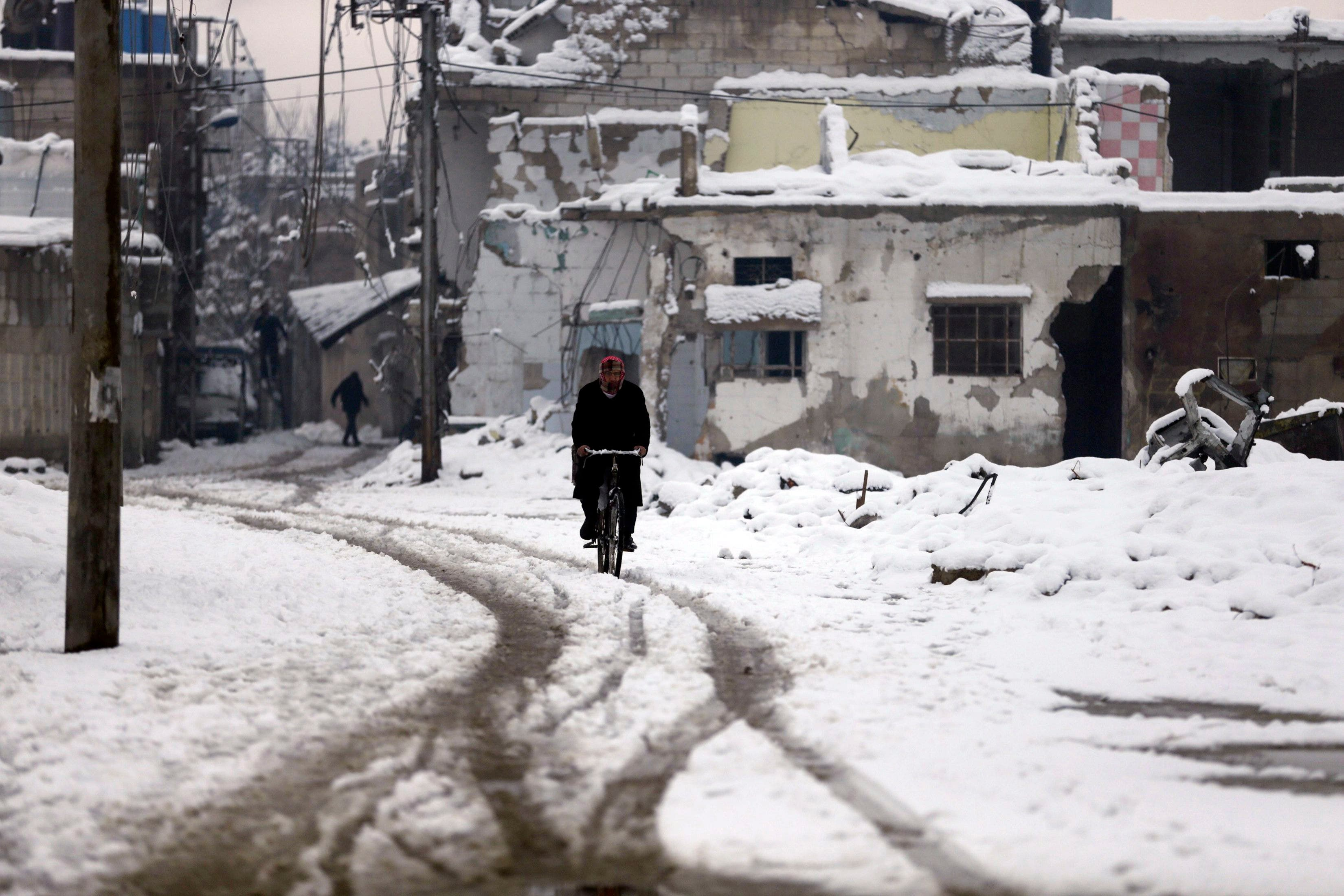 Snow in Syria