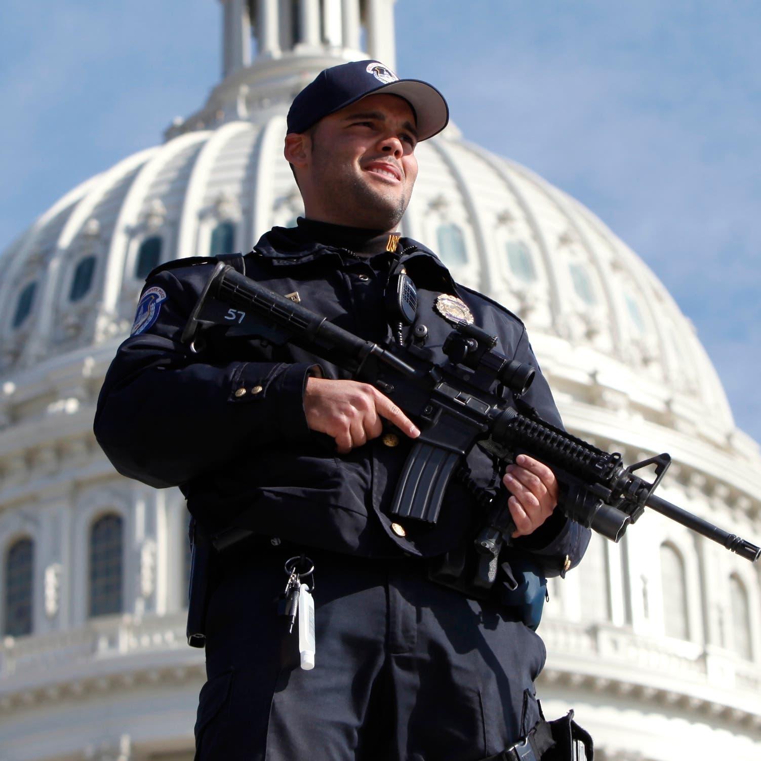 واشنطن: توقيف مسلّح مدجّج بالذخيرة بمحيط مبنى الكابيتول