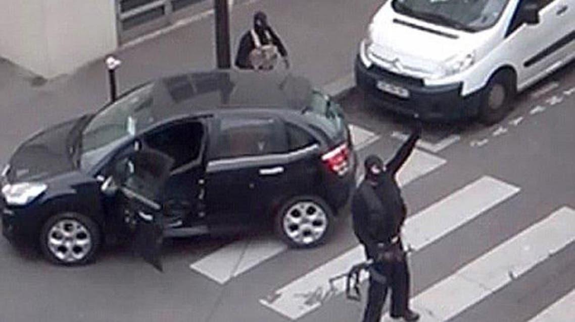 هجوم على مقر صحيفة فرنسية شارلي ايبدو