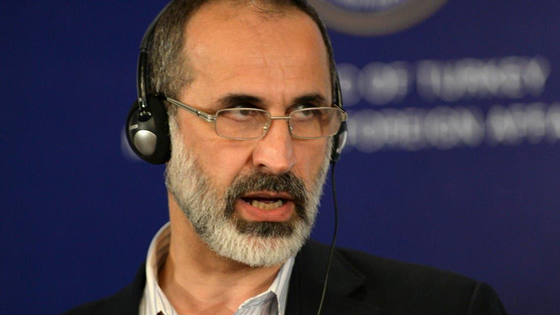 moaz al khatib AP syrian opposition syria