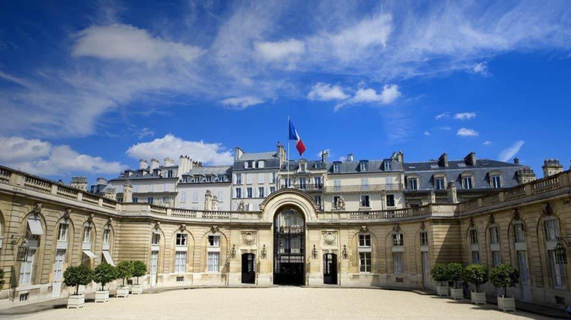 القصر الفرنسي الاليزيه